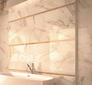 gres effetto marmo Golden Calacatta Lux