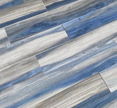 gres cristiani effetto legno blu